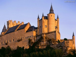 Alcazar-Castle,-Segovia,-Spain