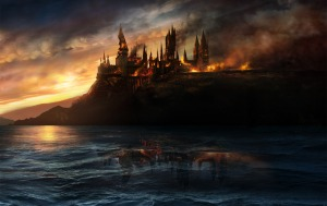 DHhogwarts.castle.battle.harrypotter