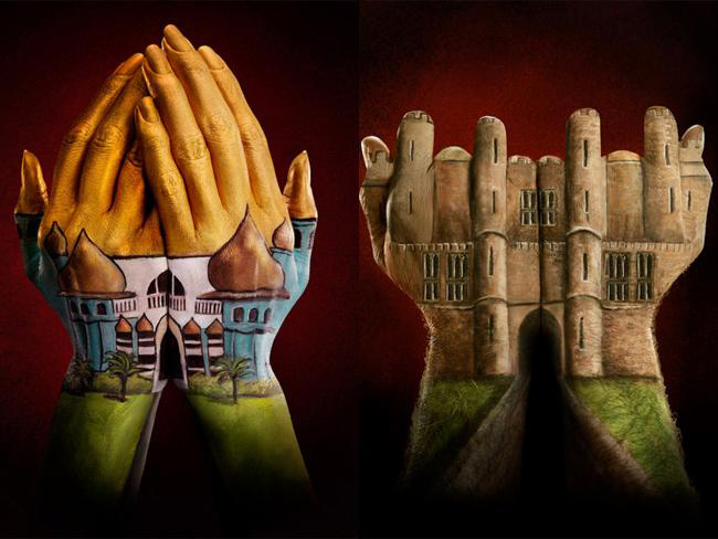 Hand-Finger-Painting-Illusions-3