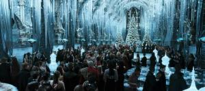hogwarts.harry.potter.castle.GreatHallYuleBall
