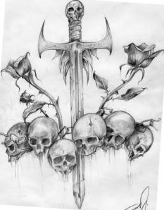 tattoo.sword.skull.espada.cranio