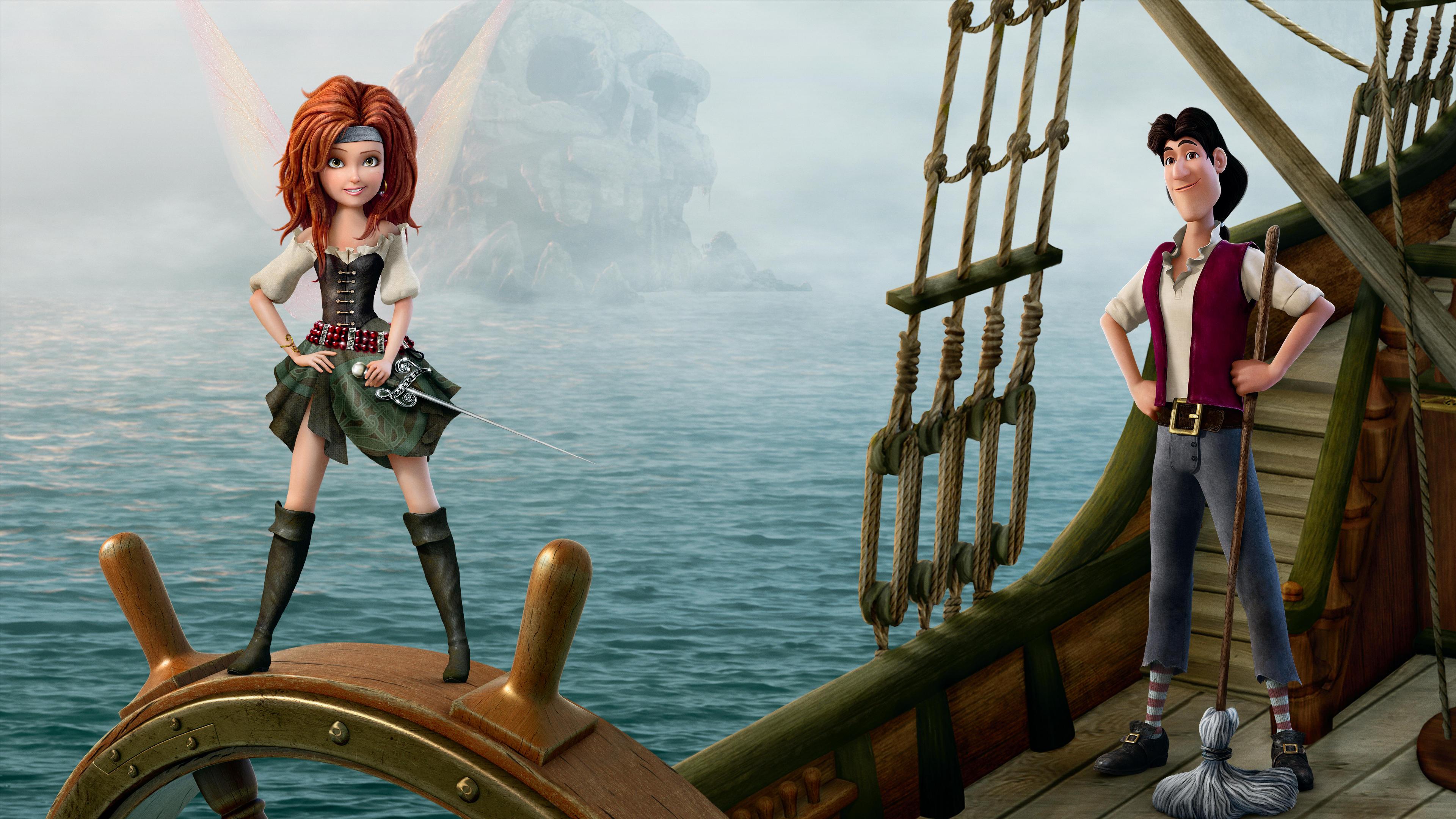 Tinker Bell Fadas E Piratas Aurora