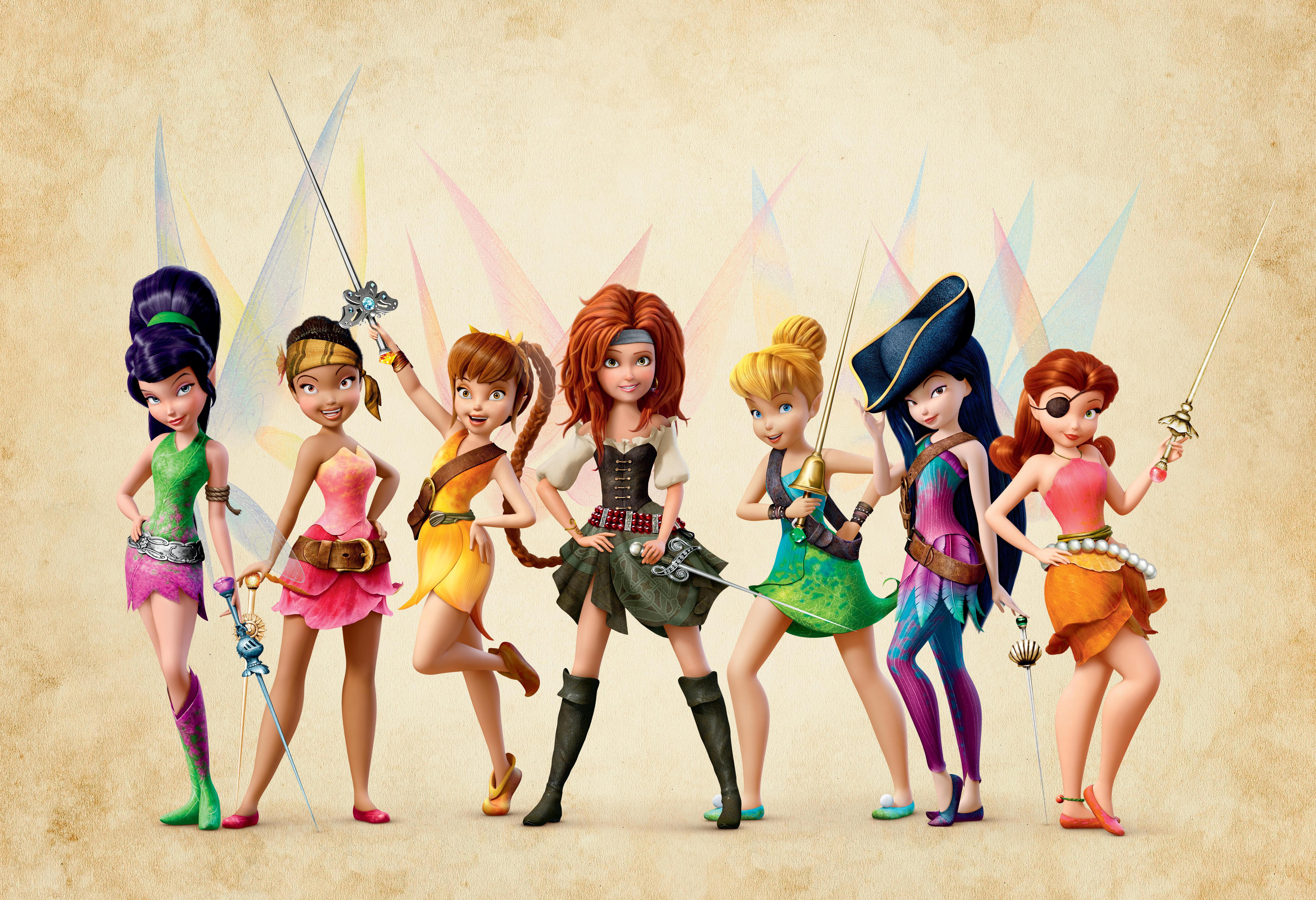 Tinker Bell Fadas e piratas – Aurora