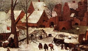 Pieter-Bruegel-The-Elder-The-Census-at-Bethlehem-detail-5-