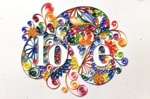 quilled_love_lettering_by_jabateau-d58nc3w
