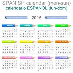2015-Calendario