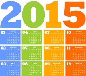 Calendar-2015-Vector