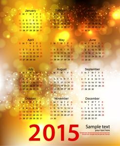 Colorful-Bubbles-Calendar-2015-Vector