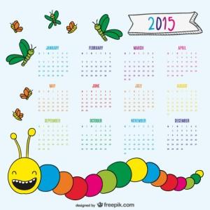 desenho-agradavel-verme-e-borboletas-calendario-2015_23-2147496317