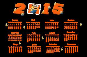 MINIONS CALENDARIO 2015-16