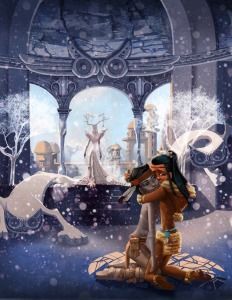 638x825_10014_The_Snow_Queen_2d_fan_art_snow_queen_ice_cold_native_american_cartoon_fantasy_picture_image_digital_art