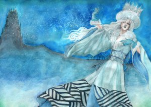 the_snow_queen_by_llewllaw-d32wg1f