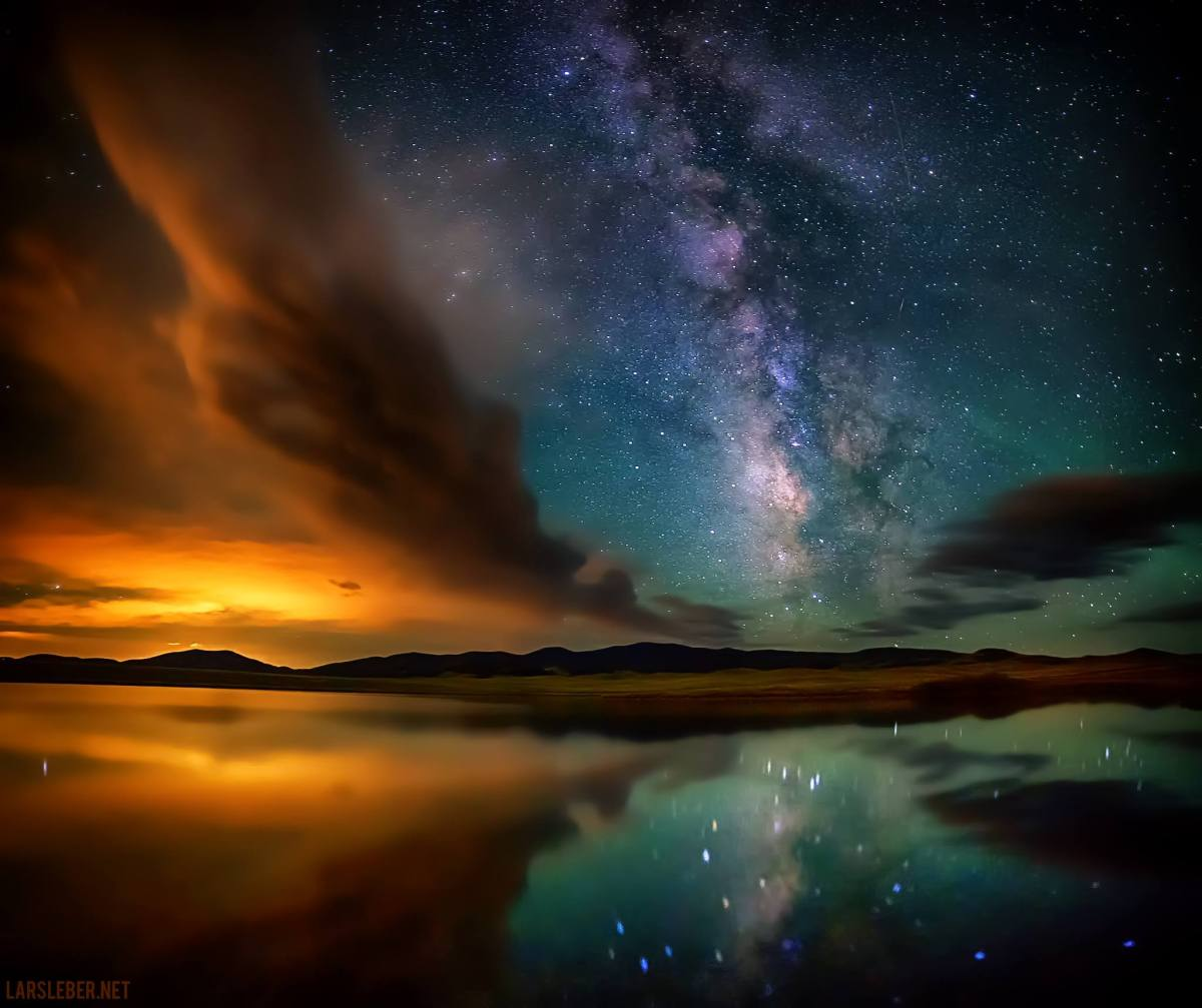 Eleven Mile Reservoir Milky Way Colorado Aurora