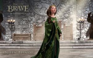 brave.disney.wallpaper.queen.elinor.valente.rainha.elinor.mãe.da.princesa.merida.papel.de.parede