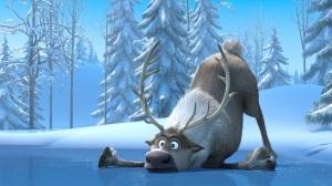 frozen.filme.animation.disney.moose.fallen.ice.and.snow.wallpaper.papel de parede.alce