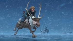 frozen.filme.animation.disney.moose.running.against.ice.and.snow.wallpaper.papel de parede.príncipe