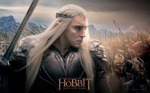the.hobbit.the.battle.of.the.five.armies.movie.poster.o.hobbit.a.batalha.dos.cinco.exércitos.peter.jackson.elves.elven king.wallpaper.elven army.elf army.bows and arrows