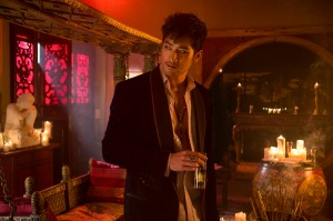 Magnus Bane (Godfrey Gao) in Screen Gems fantasy-action THE MORTAL INSTRUMENTS: CITY OF BONES.