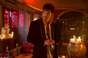 Magnus Bane (Godfrey Gao) in Screen Gems fantasy-action THE MORTAL INSTRUMENTS: CITY OF BONES.