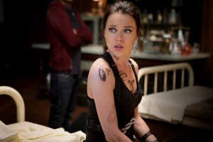 Isabelle (Jemima West) in Screen Gems fantasy action THE MORTAL INSTRUMENTS: CITY OF BONES.