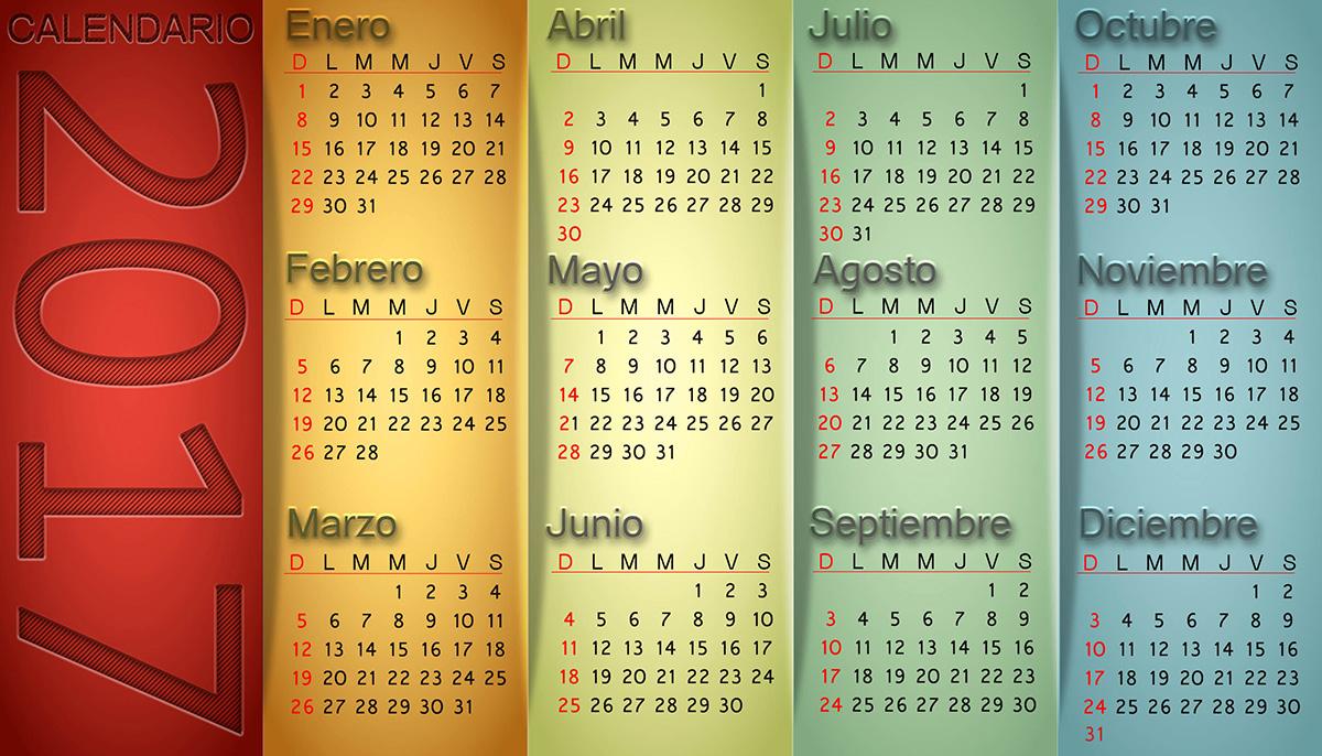 Calendarios 2017 calendars – Aurora