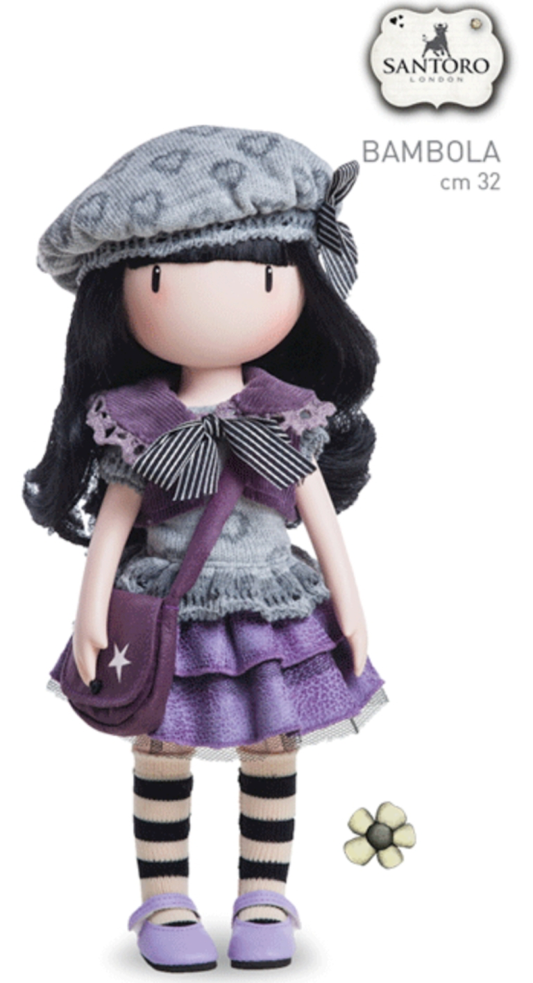 Bambola_The_Little_Violet_Gorjuss_By_Santoro_London